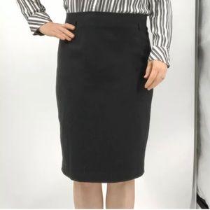 Amanda + Chelsea gray pencil skirt